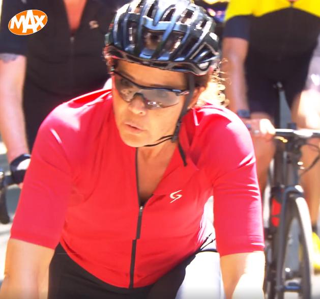 Nicole Buch-van Houten fietst loodzware Tour de Celeb voor Nierstichting