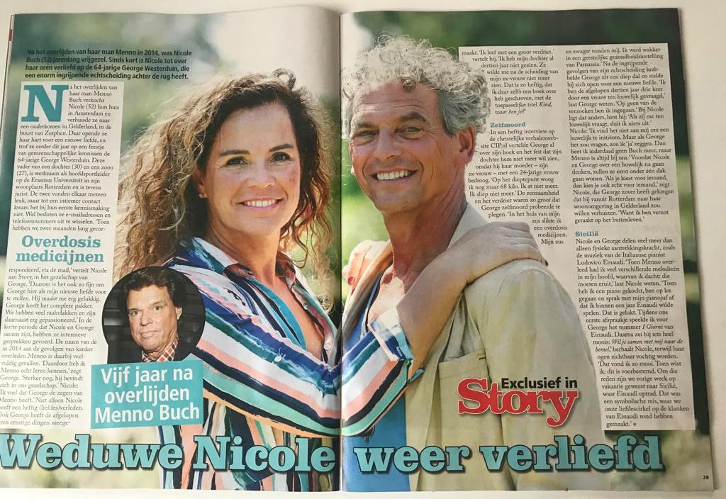 Story, augustus 2019: Weduwe Nicole weer verliefd